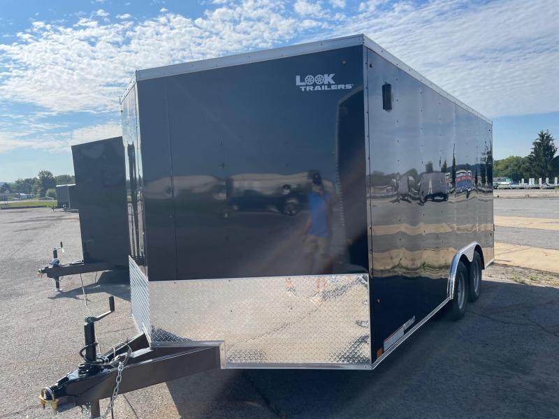2022 Look Trailers 8.5x16 7K Car Hauler Enclosed Cargo Trailer