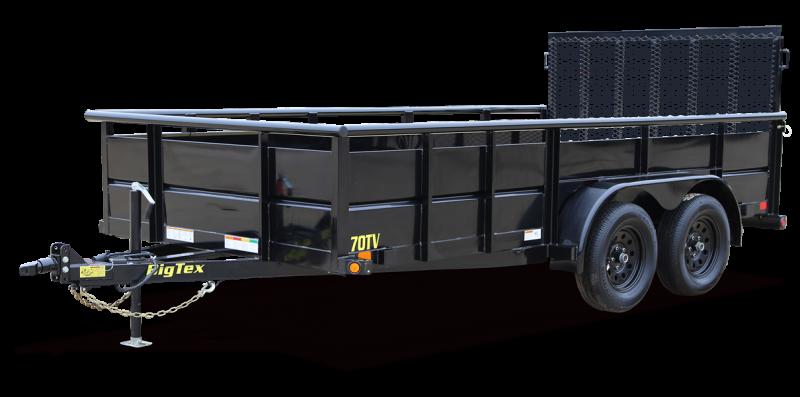 2022 Big Tex Trailers 7x16 7K Vanguard Landscape Utility Trailer