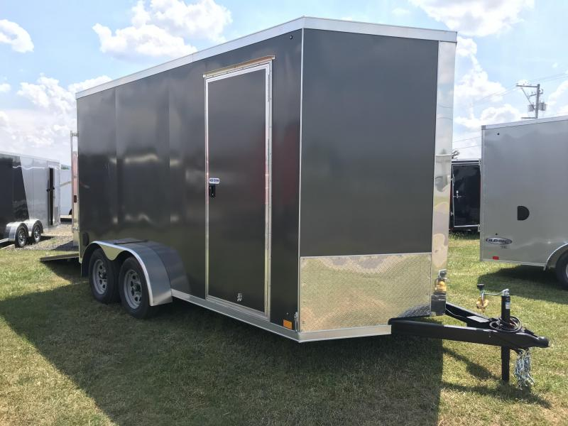2021 Cross Trailers 7x14 +12 Enclosed Cargo Trailer