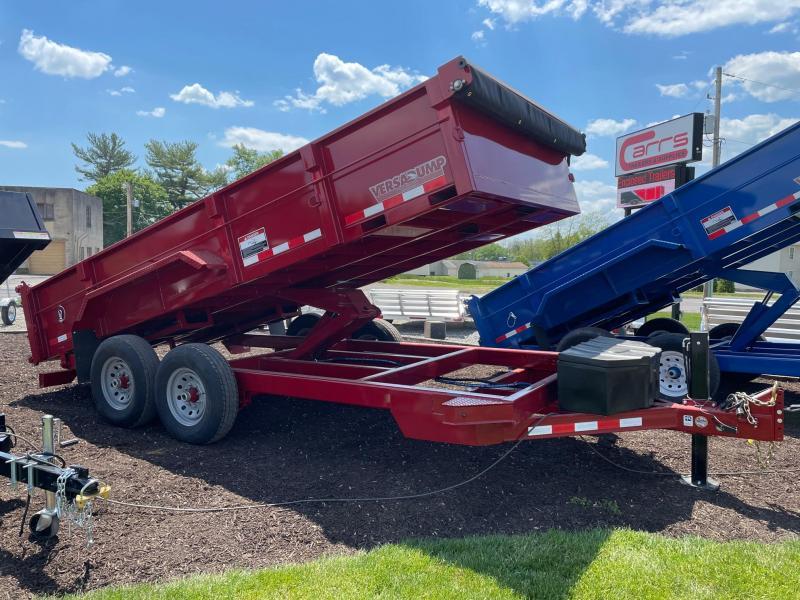 2021 Midsota HV-Series 7x16 15.4K Dump Trailer