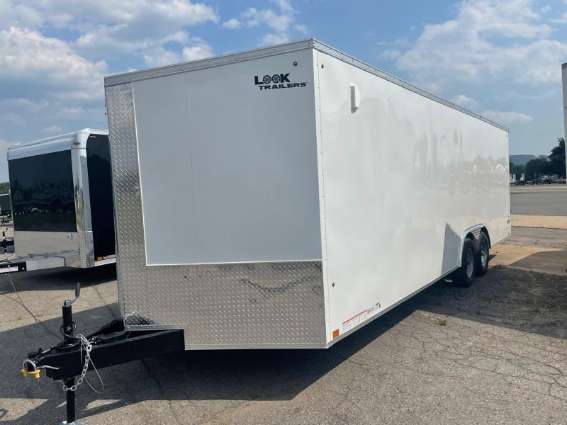 2022 Look Trailers 8.5x24 10K Car Hauler Enclosed Cargo Trailer