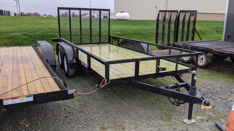 2021 Holmes Res. 6-4x16 Utility Trailer