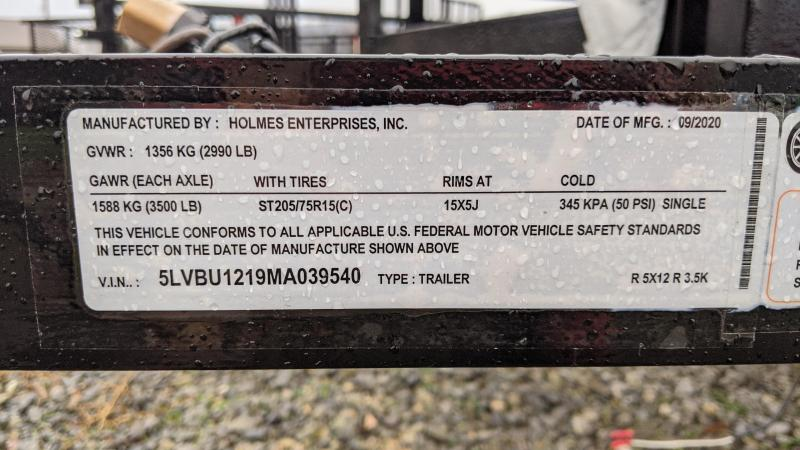 2021 Holmes Res 5x12 Utility Trailer