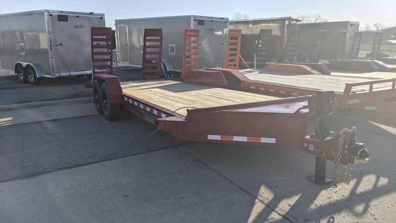 2021 Midsota 20' Skid loader Equipment Trailer