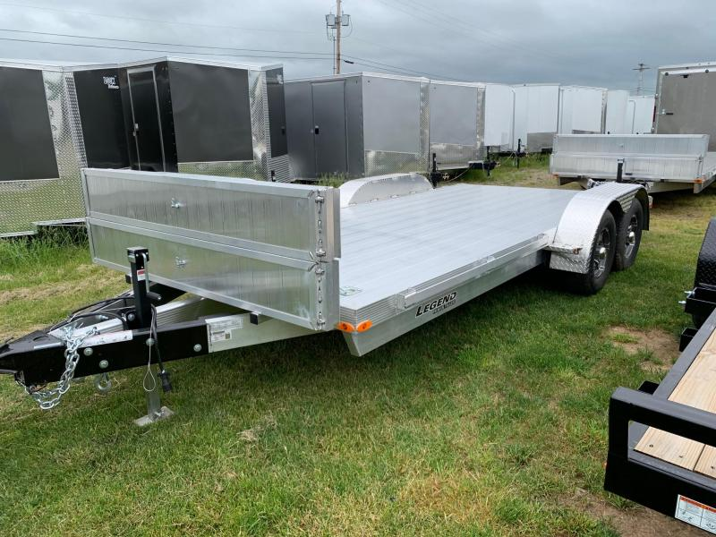 2020 Legend Trailers 7x18 10K Car / Racing Trailer