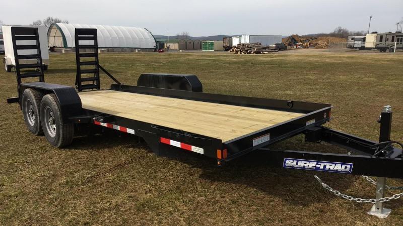 2019 Sure-Trac 7 x 18 Skid Steer  14k