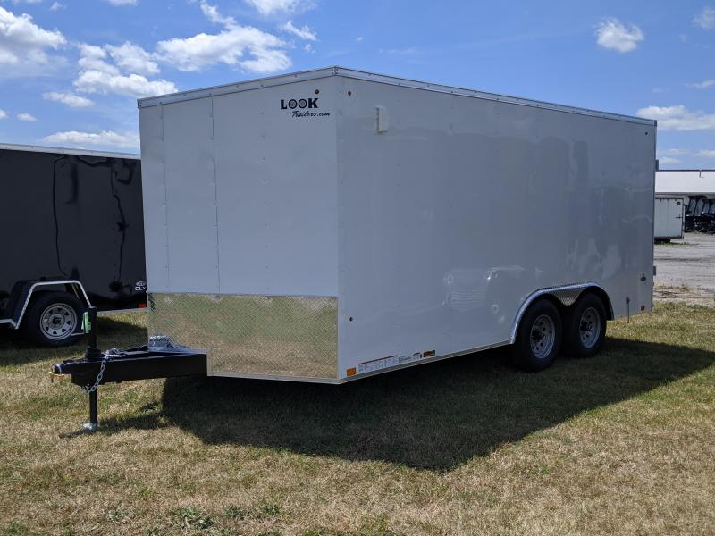 2021 Look Trailers 8.5x16 Enclosed Cargo Trailer
