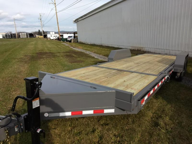 2019 Midsota 7x18+6 17.6K tilt deck Equipment Trailer