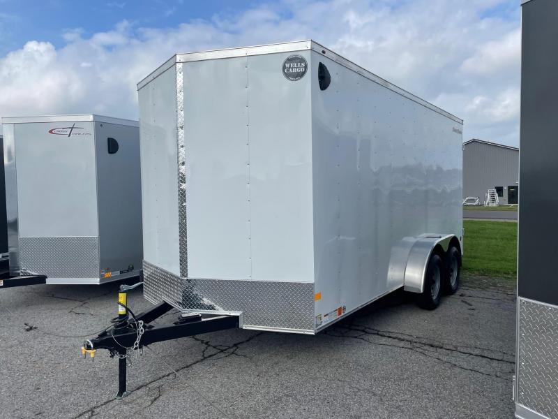 2022 Wells Cargo 7x16 7K Enclosed Cargo Trailer