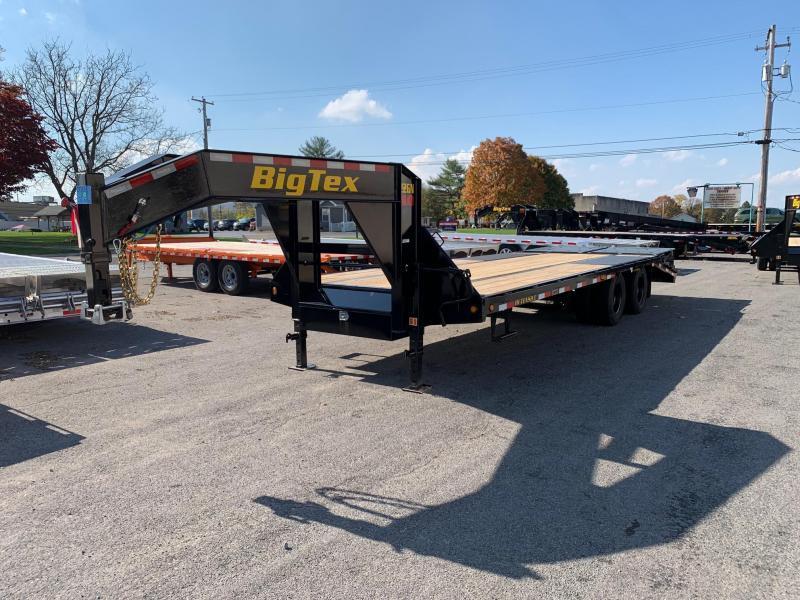 2021 Big Tex Trailers 8.5x20+5' 23.9K Gooseneck Flatbed Trailer