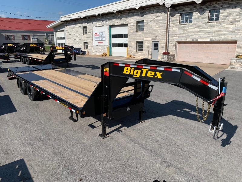 2021 Big Tex Trailers 8.5x20+5' 23.9K Gooseneck Flatbed Trailer