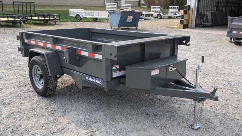 2021 Sure-Trac 5x8 Dump Trailer