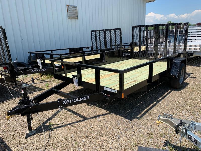 2020 Holmes 6-10x12 Commercial 5K Open Side Rail Utility Trailer