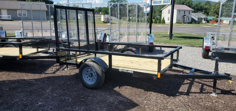 2021 Holmes 5x8 Open Side Rail Utility Trailer