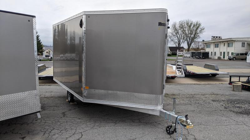 2021 Mission 101x12 Snowmobile Trailer