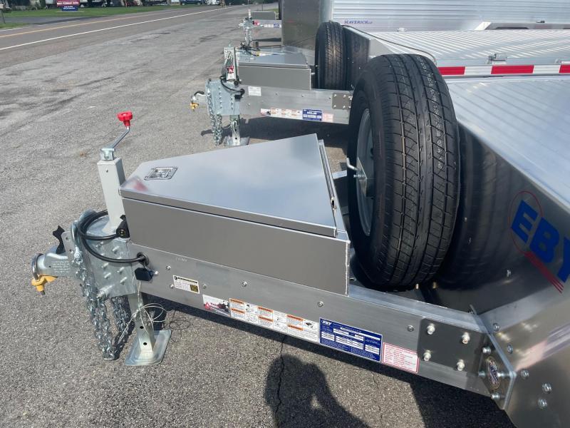 2021 EBY 20 10K Deckover Flatbed Trailer