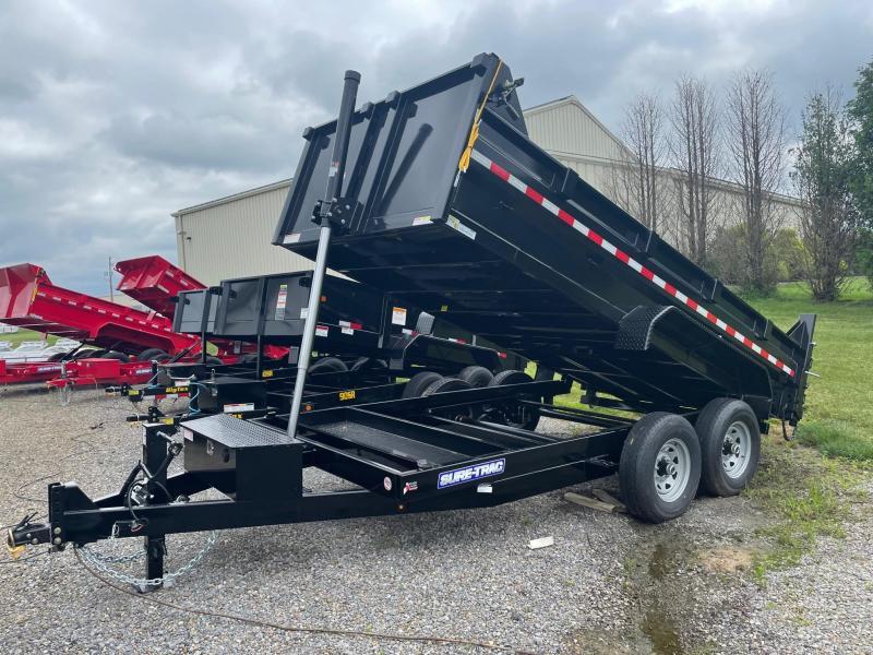 2021 Sure-Trac 7x14 14K Dump Trailer