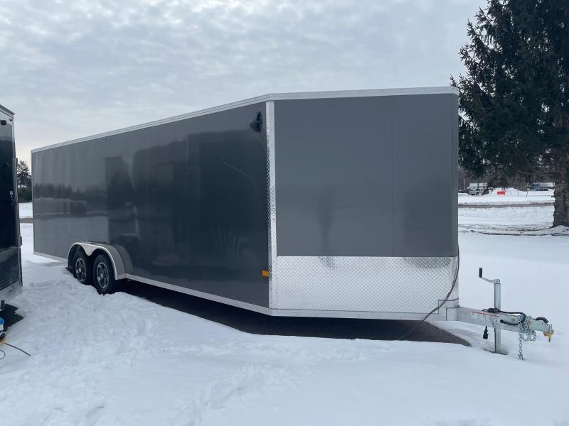 2021 Mission EZ Hauler 7.5 x 24 Snowmobile Trailer