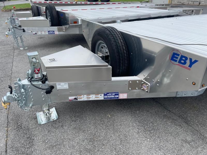 2021 EBY 20 14K Deckover Flatbed Trailer