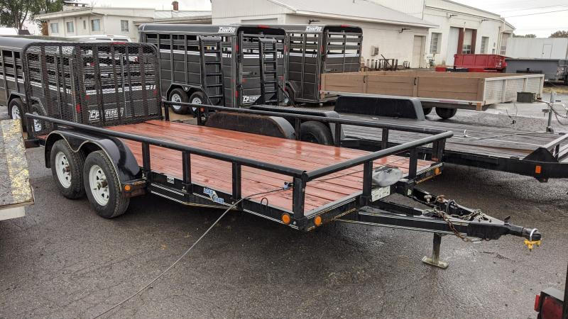 2012 Load Trail 83x16 Equipment Trailer