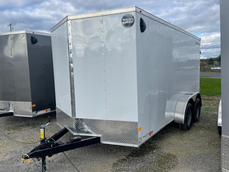 2022 Wells Cargo 7x14 7K Enclosed Cargo Trailer