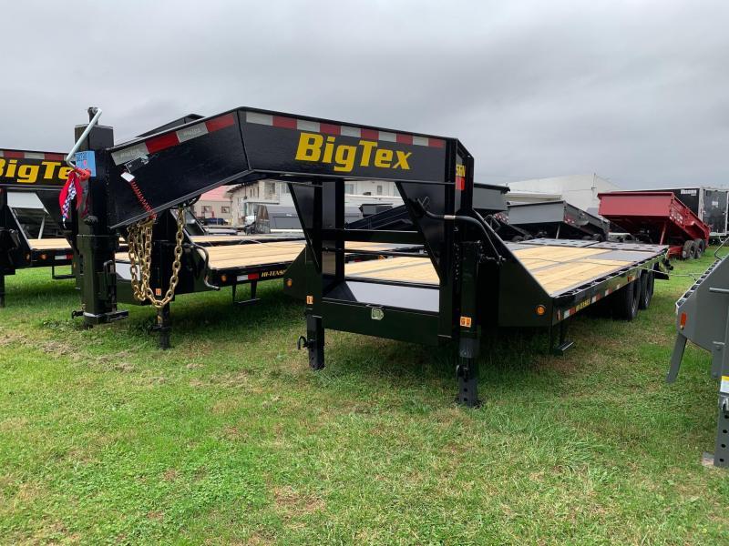 2020 Big Tex Trailers 8.5x25 Gooseneck Flatbed Trailer