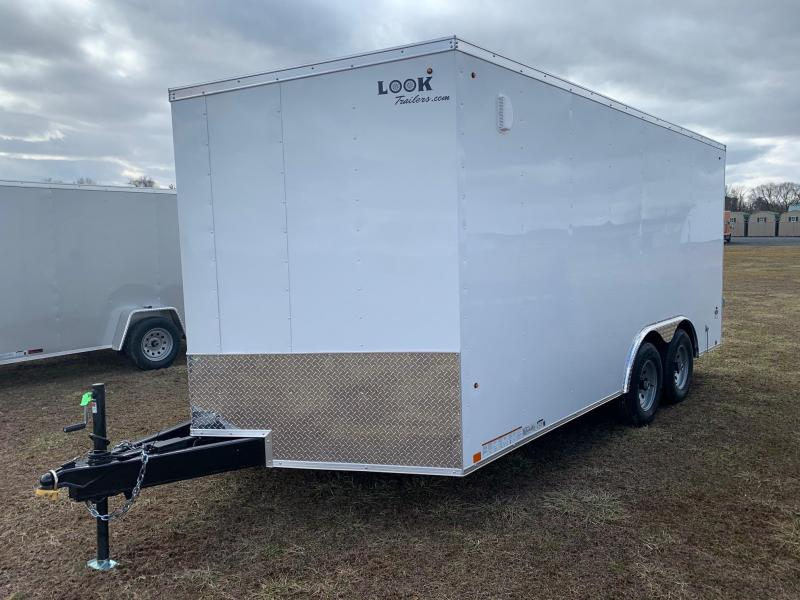 2021 Look Trailers 8.5x16 7K Element SE Enclosed Cargo Trailer