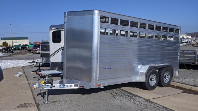 2022 EBY 16' Maverick Livestock Trailer