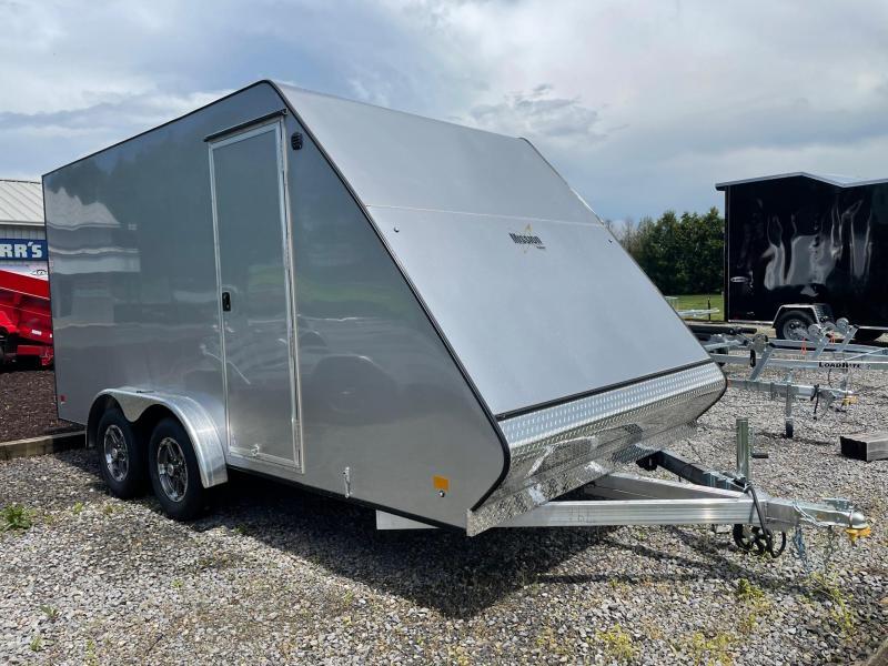 2022 Mission 7.5x16 Crossover UTV/ Snowmobile Trailer