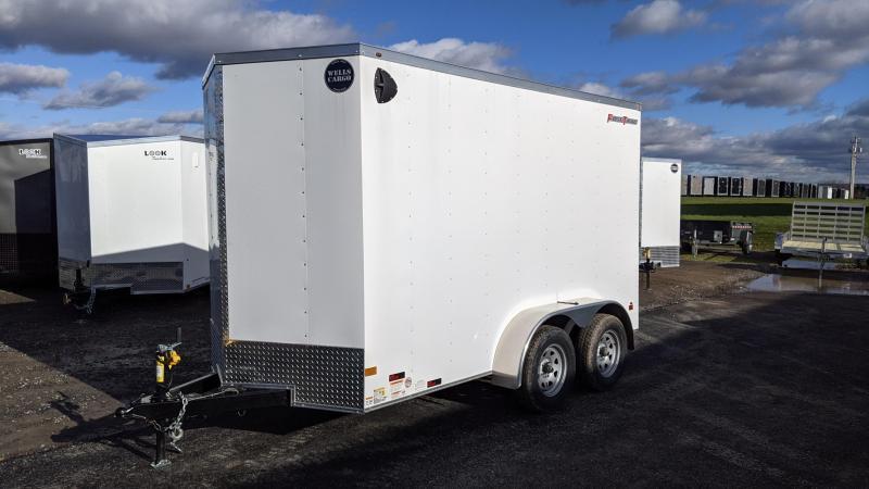 2021 Wells Cargo 6x12 Enclosed Cargo Trailer
