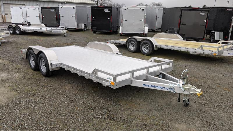 2021 Mission 18' Car / Racing Trailer