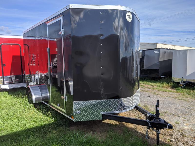 """2020 Wells Cargo 7x12 +12"""" 3.5K Fast Trac Enclosed Cargo Trailer"""