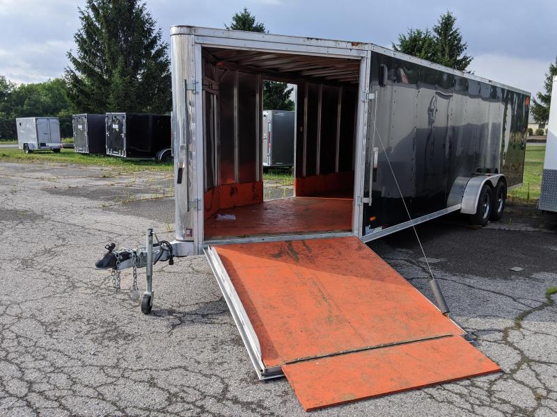 2018 MTI Trailers 7x24 Plus 5 Snowmobile Trailer