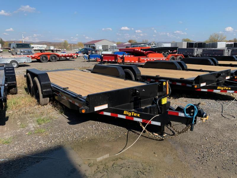2021 Big Tex Trailers 7x18 14K Tilt Equipment Trailer