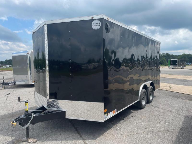 2022 Wells Cargo 8.5x16 7K Car Hauler Enclosed Cargo Trailer