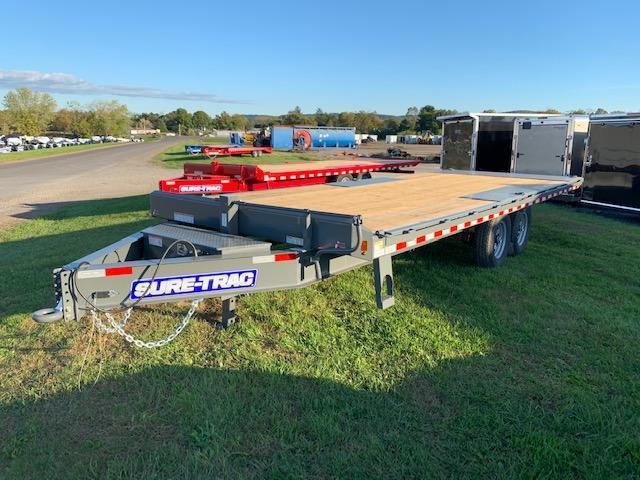 2020 Sure-Trac 8.5x22 Tilt Deckover Flatbed Trailer