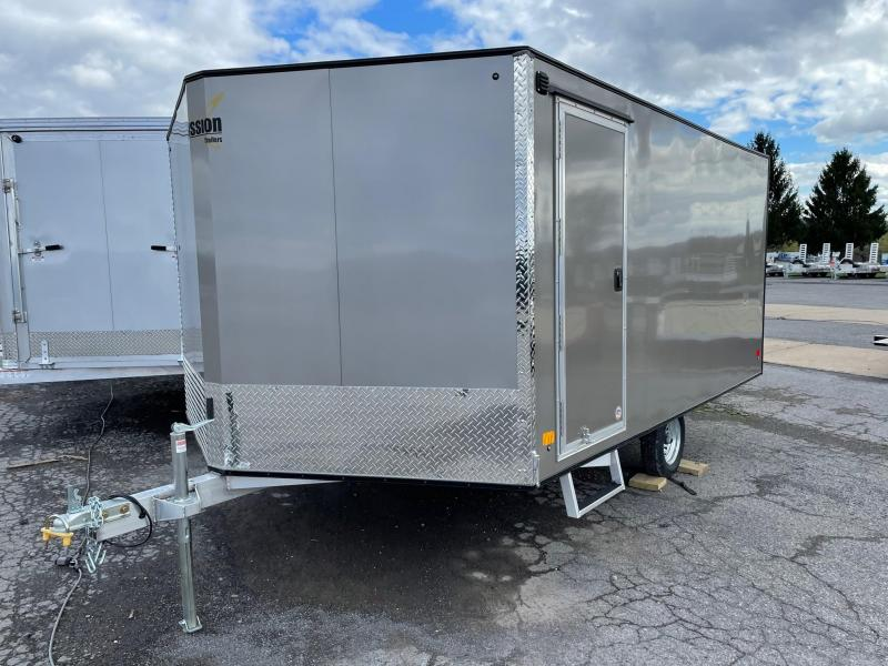 2021 Mission 101x12' Snowmobile Trailer