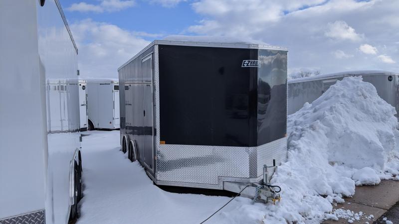 2021 Mission EZ Hauler 8.5x16 UTV Enclosed Cargo Trailer