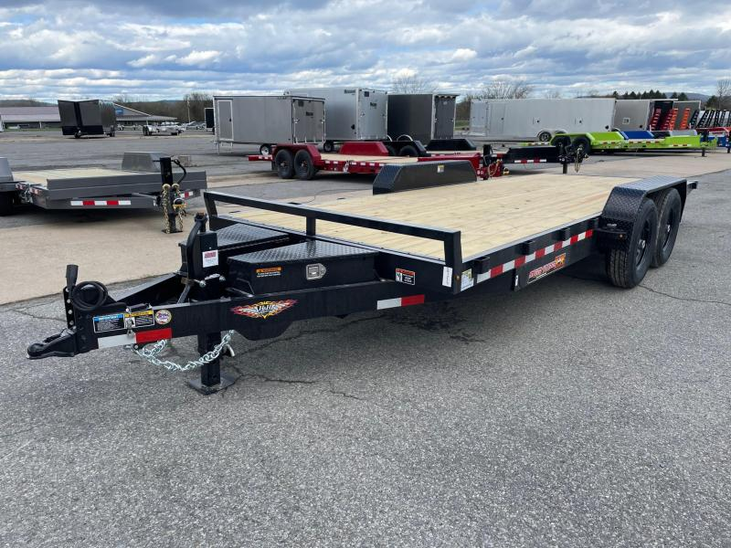 2021 H and H Trailer 20' 14K Power Tilt Equipment Trailer