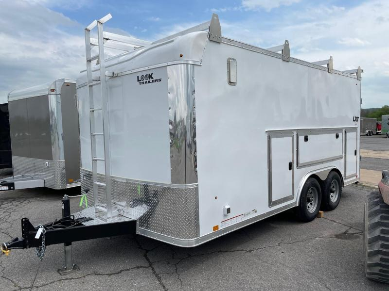 2022 Look Trailers 8.5x16 10K LXT Contractor Enclosed Cargo Trailer