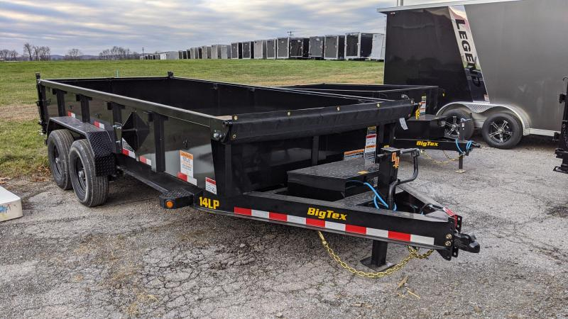 2021 Big Tex Trailers 7x16 Dump Trailer