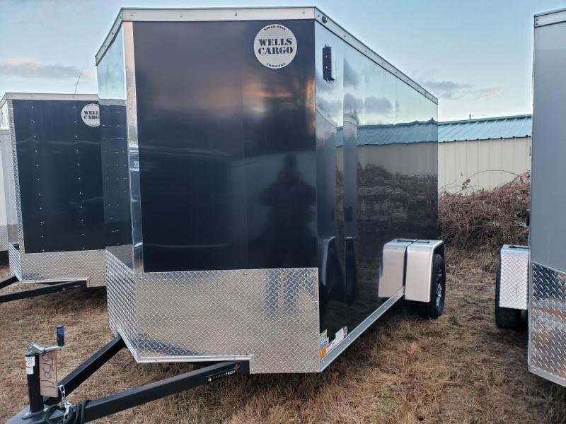 2019 Wells Cargo 500 Series 6x12 Enclosed Cargo Trailer