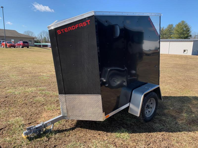 2020 Steadfast Trailers 4x6 2.2K Enclosed Cargo Trailer