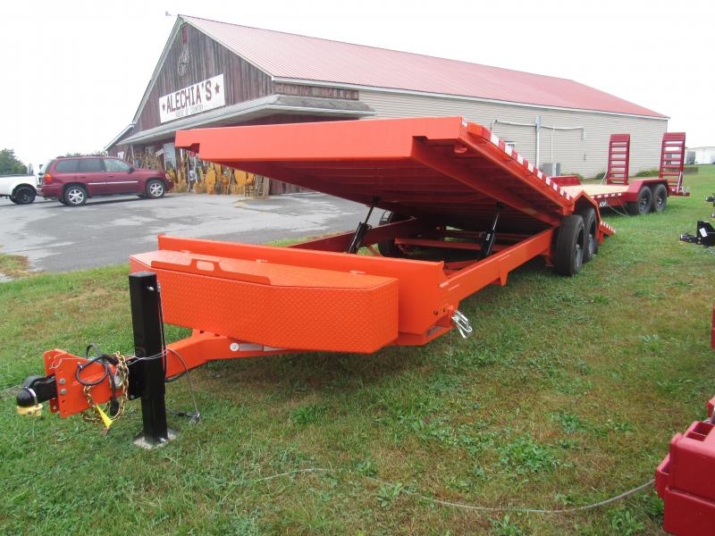 2020 Midsota TBWB-24 Power Tilt Equipment Trailer