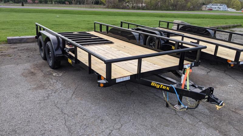 2021 Big Tex Trailers 6-10x16 Utility Trailer