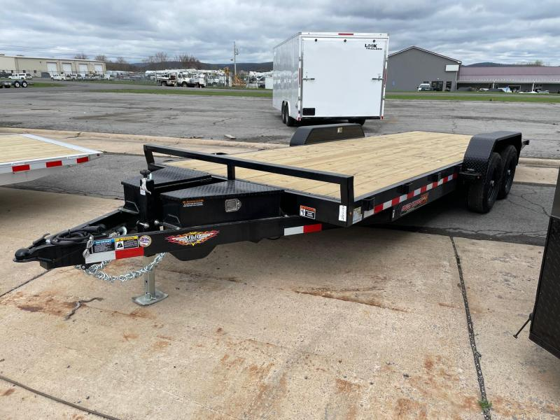 2021 H and H Trailer 22' 10K Power Tilt Car / Racing Trailer