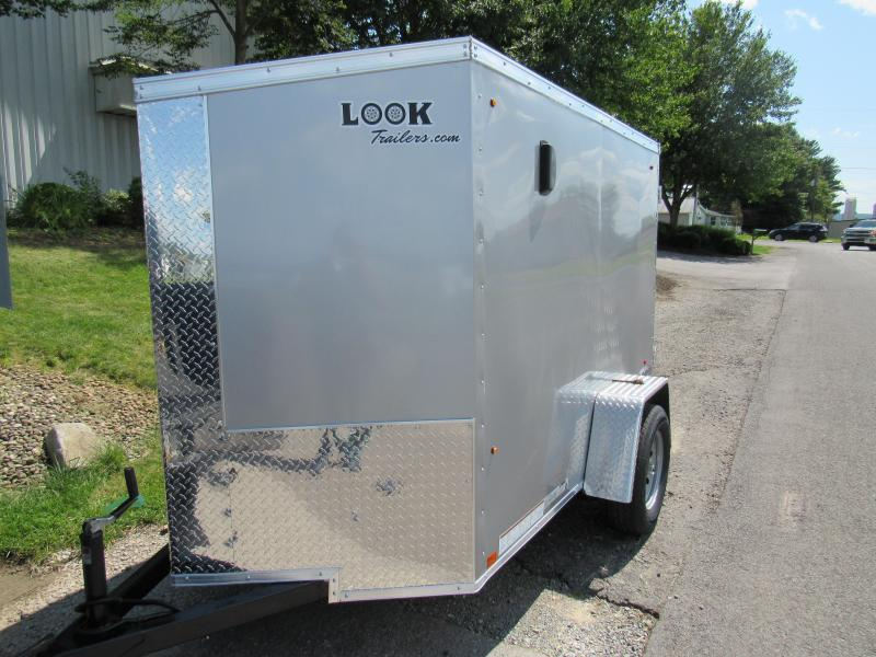 2020 Look Trailers 5x8 Element SE Enclosed Cargo Trailer