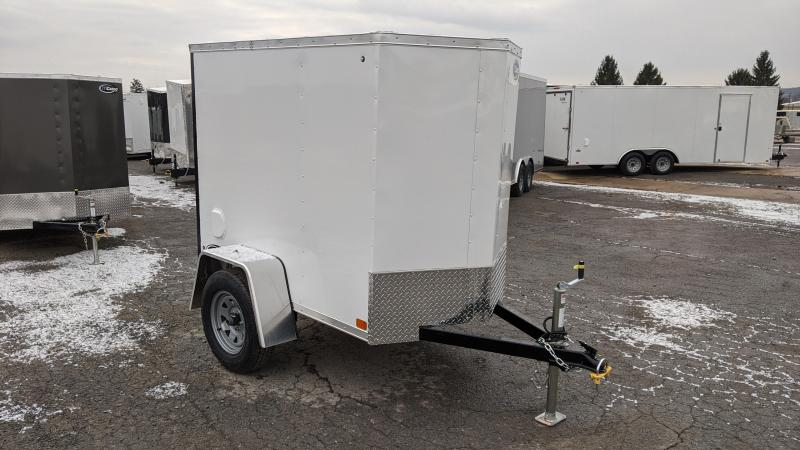 2021 ITI Cargo 4x6 Enclosed Cargo Trailer