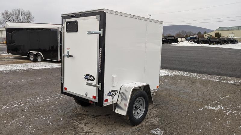 2021 ITI Cargo 4x6 Enclosed Cargo Trailer