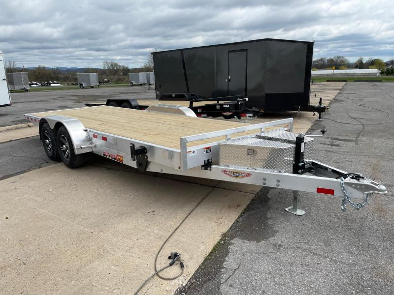 2021 H and H Trailer 20' 10K Aluminum Car / Racing Trailer